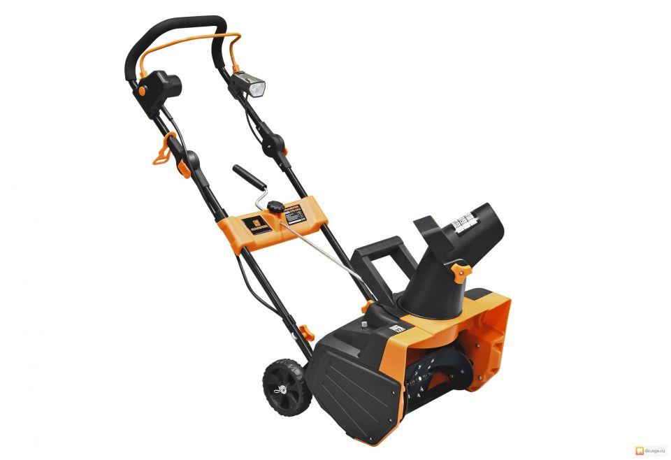 Снегоуборщик электрич. CARVER STЕ 2346L  2300 W 46*20. 3-6m фара