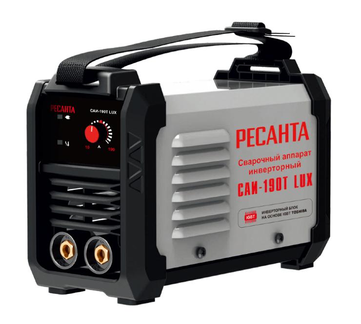 Сварочный аппарат инверторный САИ 190T LUX Ресанта