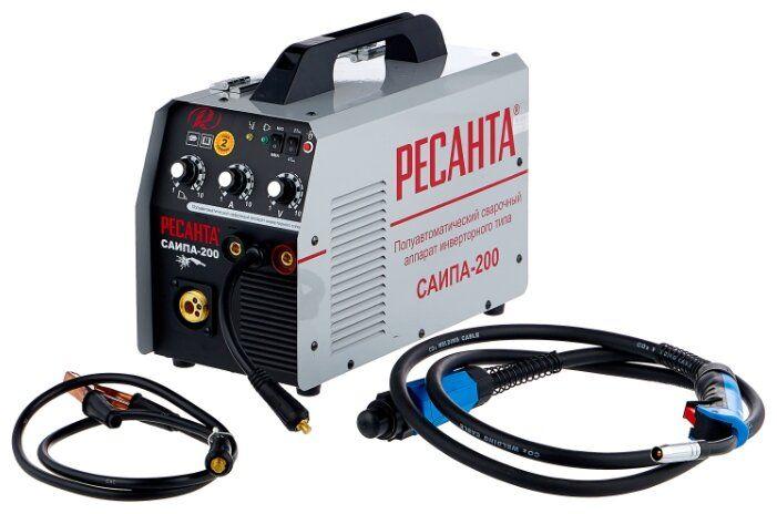Сварочный аппарат инверторный п/а САИПА-200С Ресанта