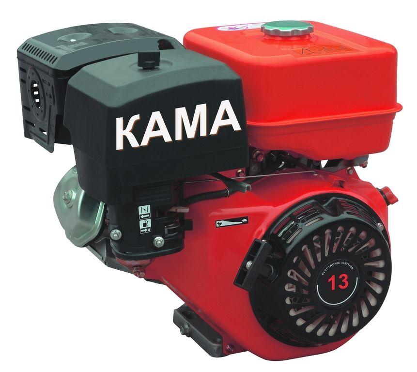 Двигатель для мотоблока КАМА DM13K (13 лс)